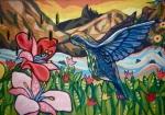 Colibri mural